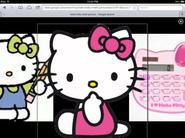 HELLO KITTY goes LINEAR