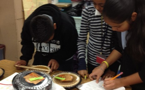 PI (3.1416) Day 3/14/12 at EDISON (ms. Cruz's Math classes